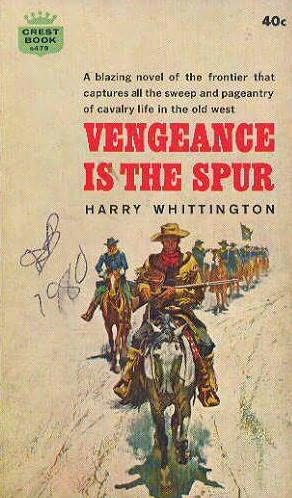 book cover of Vengeance Is the Spur