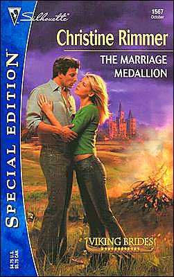 book cover of The Marriage Medallion