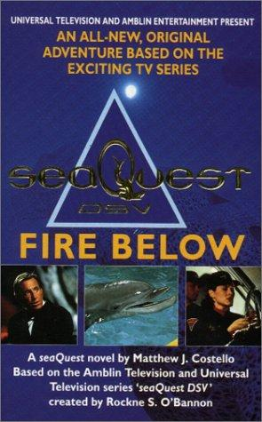 book cover of The Fire Below