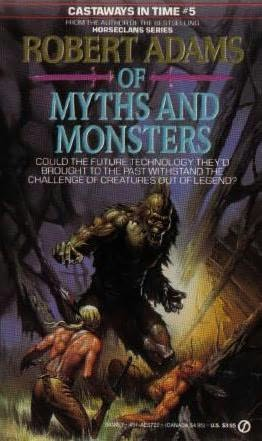 book cover of Of Myths and Monsters