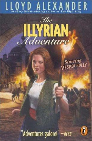 book cover of The Illyrian Adventure