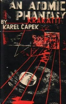 book cover of Krakatit