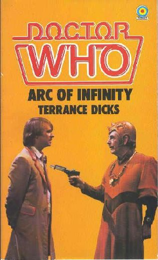 book cover of Arc of Infinity