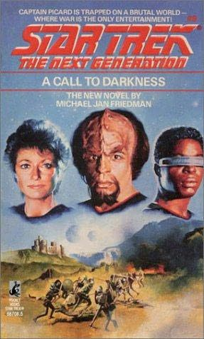 book cover of A Call to Darkness
