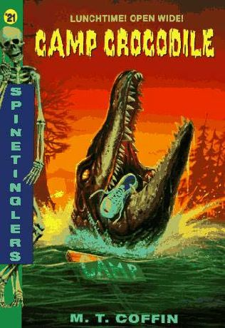 book cover of Camp Crocodile