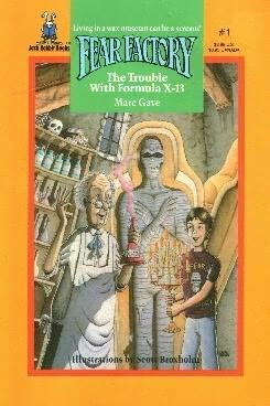 book cover of The Trouble with Formula X13