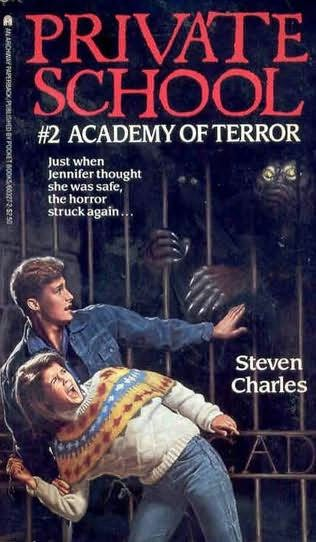 book cover of Academy of Terror