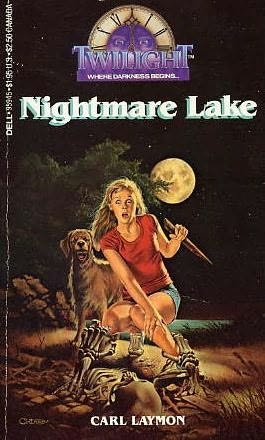 book cover of Nightmare Lake
