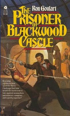 book cover of The Prisoner of Blackwood Castle