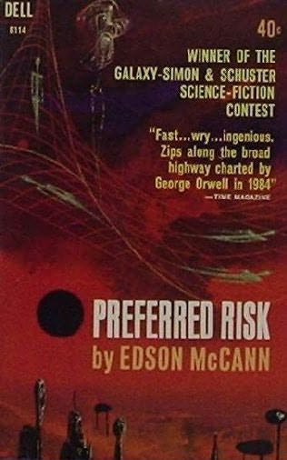 book cover of Preferred Risk