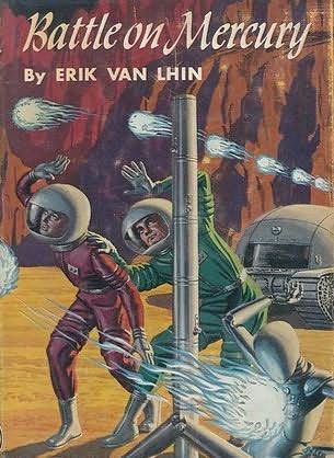 book cover of Battle on Mercury