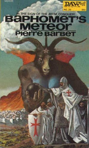 book cover of Baphomet\'s Meteor