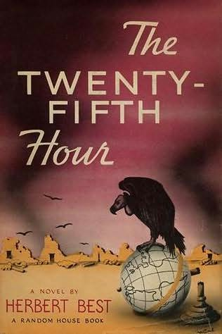 book cover of The Twenty-Fifth Hour