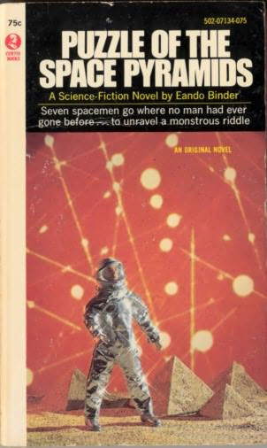 book cover of Puzzle of the Space Pyramids