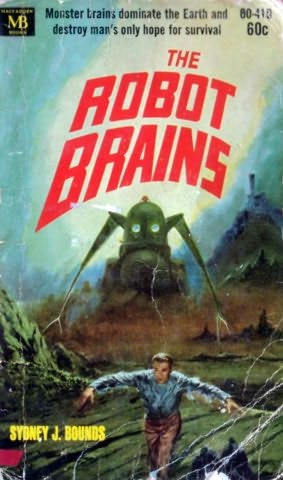 book cover of The Robot Brains