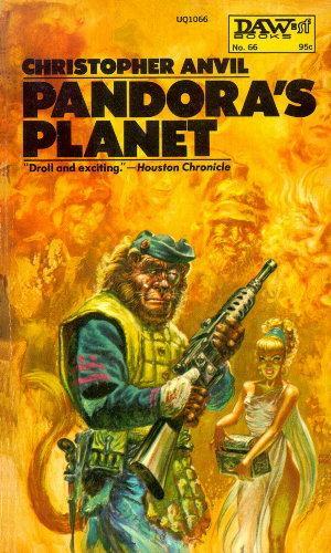 book cover of Pandora\'s Planet