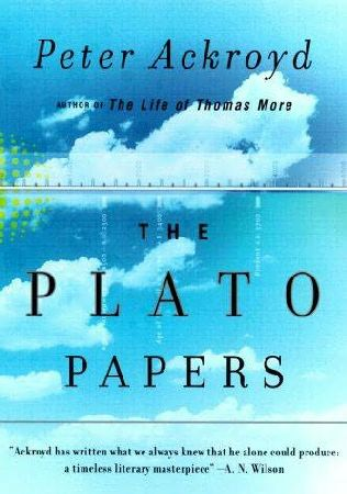 book cover of The Plato Papers