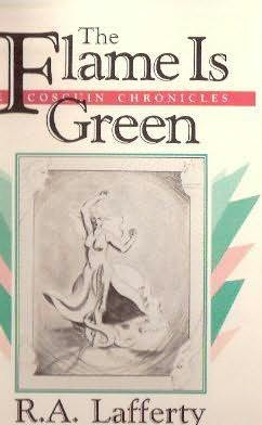 book cover of The Flame Is Green