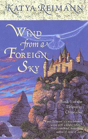 book cover of Wind from a Foreign Sky