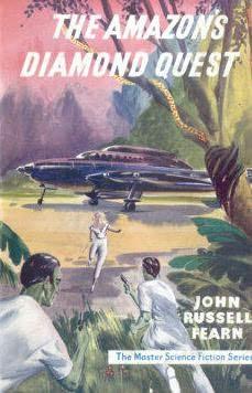 book cover of The Amazon\'s Diamond Quest