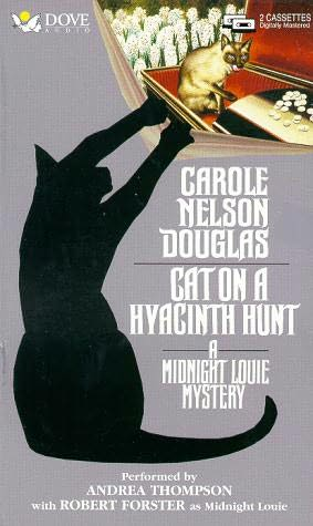 book cover of Cat on a Hyacinth Hunt