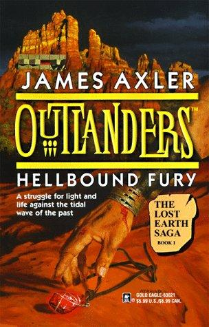 book cover of Hellbound Fury - The Lost Earth Saga Book 1