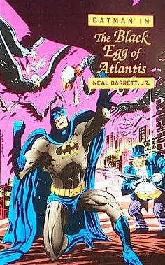 book cover of The Black Egg of Atlantis