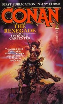 book cover of Conan the Renegade