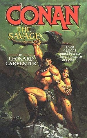 book cover of Conan the Savage