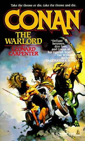 book cover of Conan the Warlord