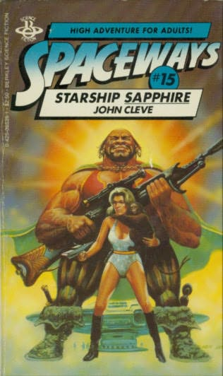 book cover of Starship Sapphire