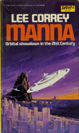 book cover of Manna