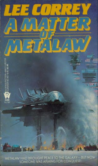 book cover of A Matter of Metalaw