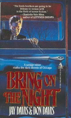 book cover of Bring on the Night