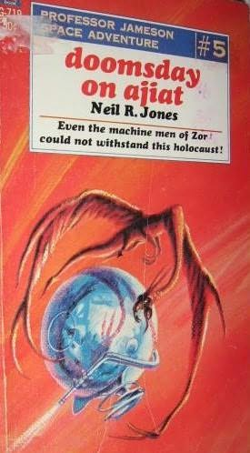 book cover of Doomsday on Ajiat