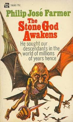 book cover of The Stone God Awakens