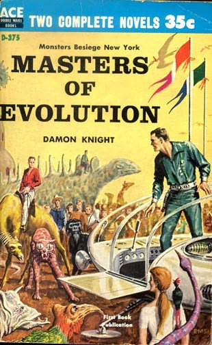book cover of Masters of Evolution