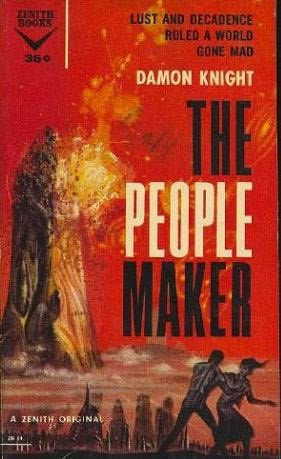 book cover of The People Maker