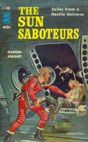 book cover of The Sun Saboteurs