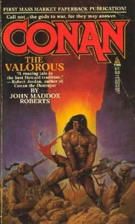 book cover of Conan the Valorous
