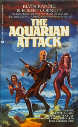 book cover of The Aquarian Attack