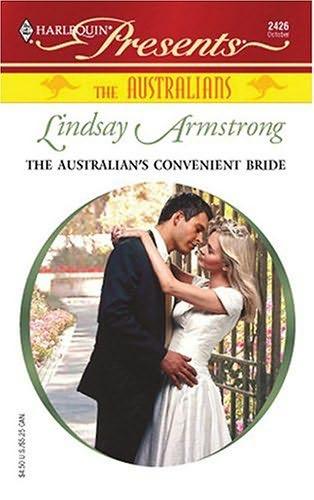 book cover of The Australian\'s Convenient Bride
