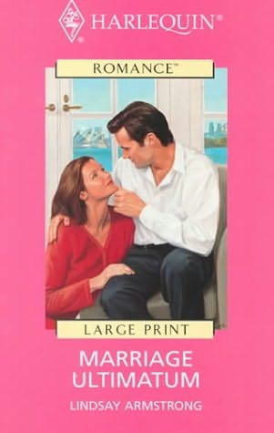 book cover of Marriage Ultimatum