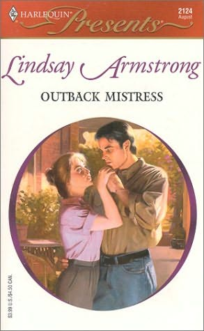book cover of Outback Mistress