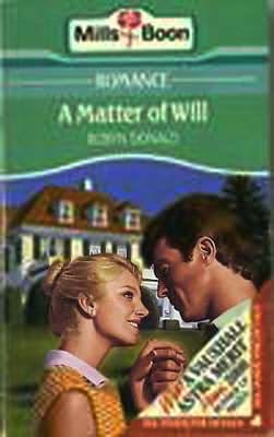 book cover of A Matter of Will