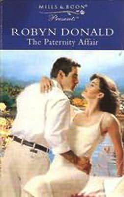 book cover of The Paternity Affair