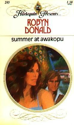 book cover of Summer at Awakopu