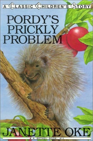 book cover of Pordy\'s Prickly Problem