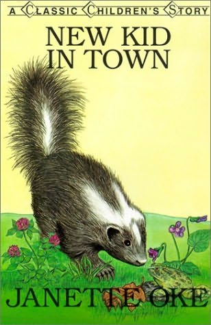 book cover of New Kid in Town