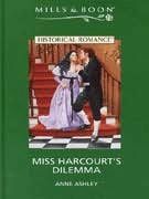 book cover of Miss Harcourt\'s Dilemma